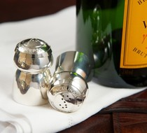 Click to enlarge - Champagne cork Salt & Pepper set, Culinary Concepts