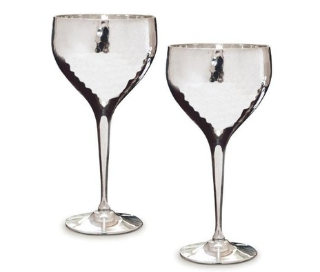 Hammered Wine Goblets, Culinary Concepts
