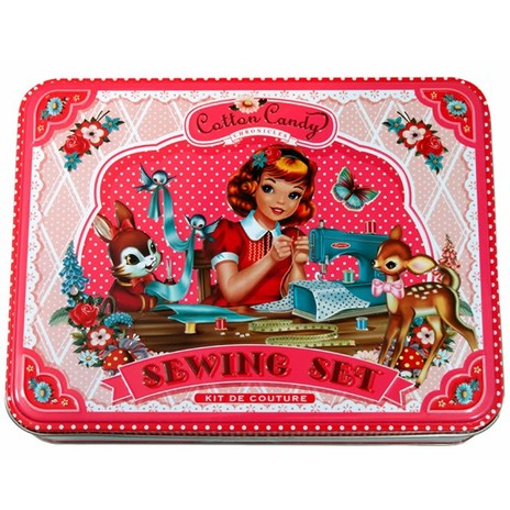 Wu & Wu Cotton Candy Sewing Kit