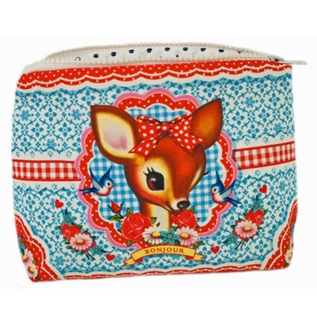 Wu & Wu Deer Make Up Bag