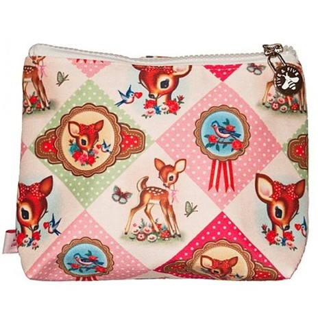 Wu & Wu Diamond Deer Make up Bag