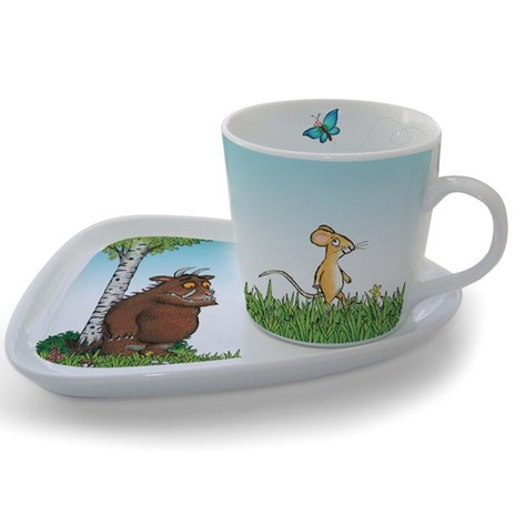 Gruffalo Milk & Biscuits Set
