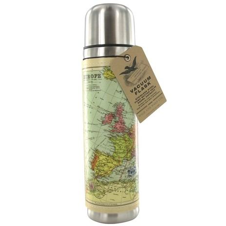 Map Vacuum Flask