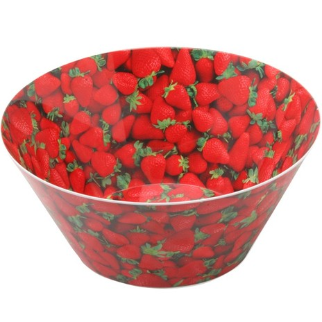 Strawberries Large Bowl