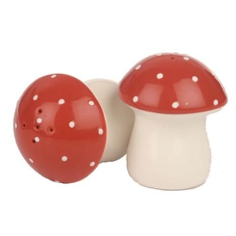Mushroom Salt & Pepper Shakers, Sass & Belle
