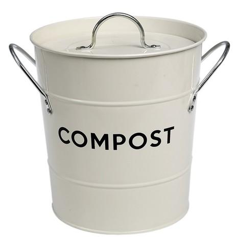 Ivory Compost Bin