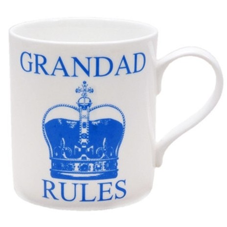 Grandad Rules Mug, Raw Xclusive