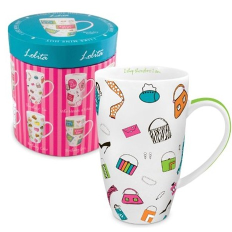 Lolita Shopaholic Too Mug