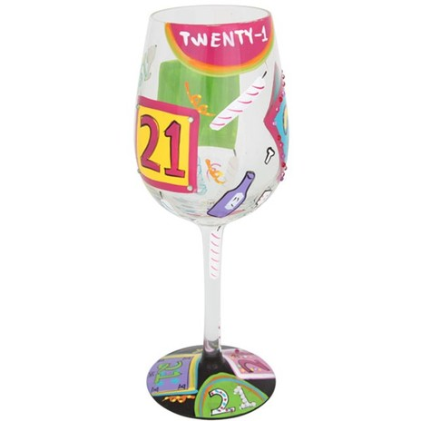 Lolita 21 Wine Glass